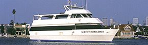 Newport Hornblower (In San Diego)  Capacity: Up to 100 Guests