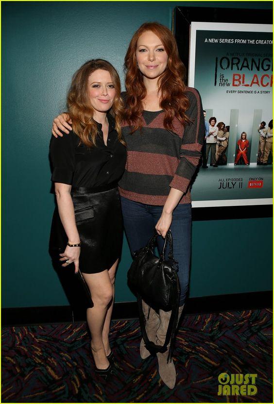 Natasha Lyonne and Laura Prepon at the screening on June 17 at 41 Ocean in Santa Monica, California.