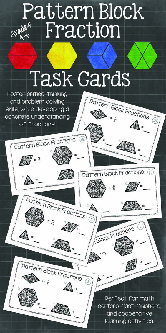 math worksheet : teaching fractions pattern blocks and fractions on pinterest : Pattern Block Fraction Worksheets