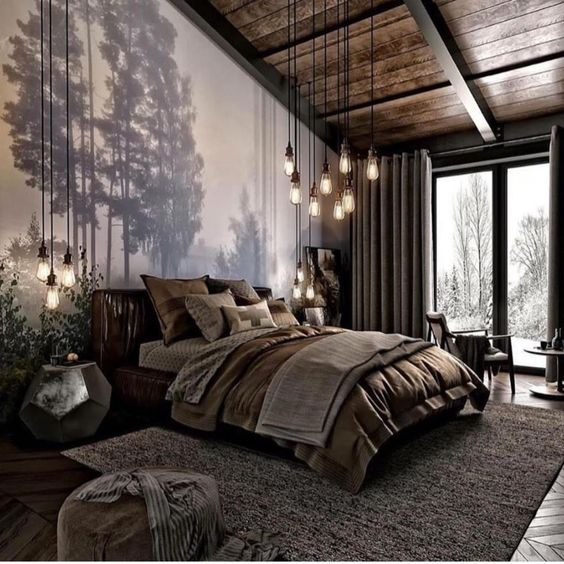 Home Interior Design — This nature-inspired bedroom