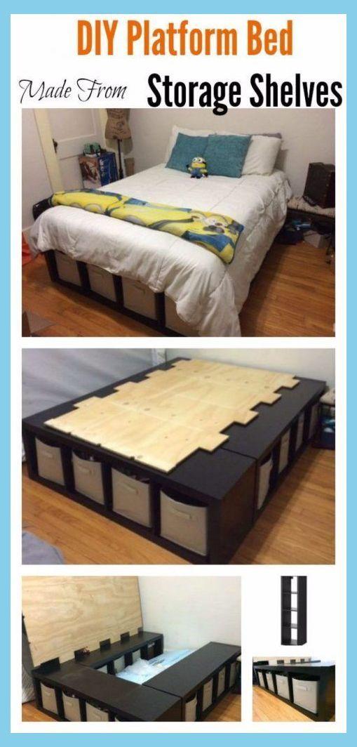 Diy Bedroom Furniture Diy Bed Frame Ideas Diy Platform Bed