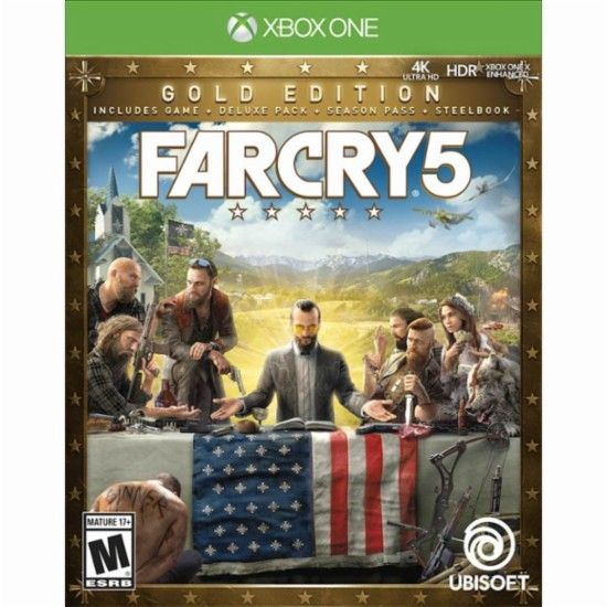 Far Cry 5 Gold Edition Xbox One Front Zoom Jogos