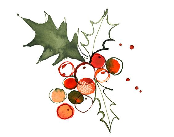 Margaret Berg : holiday / christmas: Christmas Holly