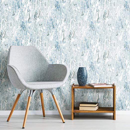 Roommates Rmk11279wp Satellite Seas Peel And Stick Wallpaper Blue Wallpaper Amazon Canada Peel And Stick Wallpaper Room Visualizer Roommate Decor
