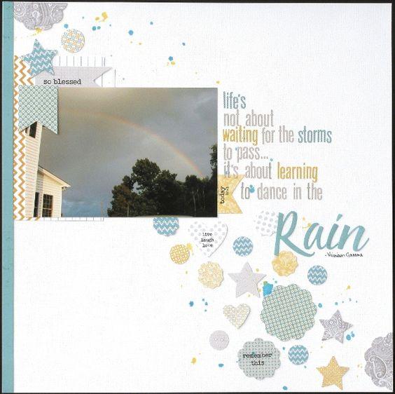 Dance in the Rain - Scrapbook.com