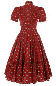 Katharina Dress red - Dresses - Autumn Winter 2013 / 2014 - Online Store - Lena Hoschek Online Shop