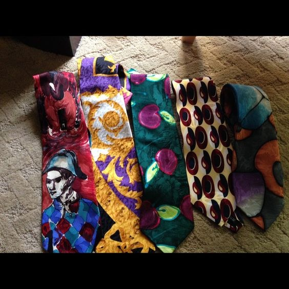 "Selling this ""5 stunning silk designer men ties beautiful"" in my Poshmark closet! My username is: lisad352. #shopmycloset #poshmark #fashion #shopping #style #forsale #Various #Accessories"