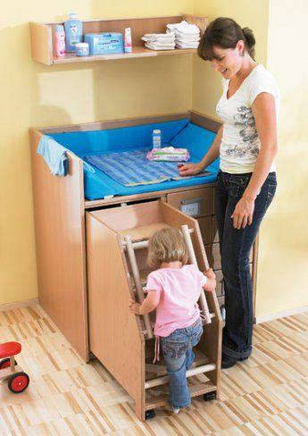 Plan de change - les meubles - Change - Exemples d'aménagement - Haba petite enfance - Habermaaß GmbH: