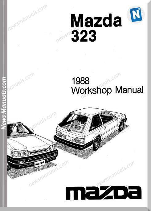 Mazda 323 Complete 1988 Workshop Manual Mazda Workshop Electrical Diagram