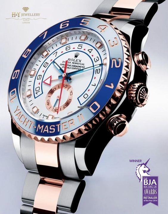 Rolex Yacht-Master II Rose Gold – ref 116681