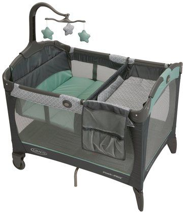 Graco Pack 'n Play Playard with Change 'n Carry Changing Pad - Manor