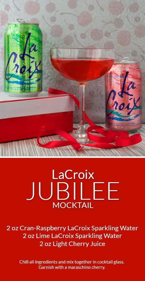 LaCroix Jubilee mocktail is perfect for any celebration!