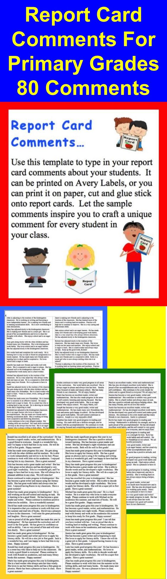report writing images