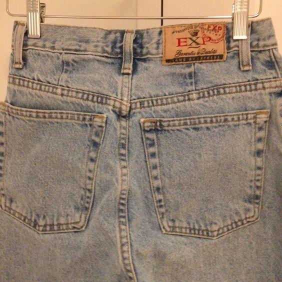 Vintage Express jeans Tag says 7/8 but these run small IMHO ...