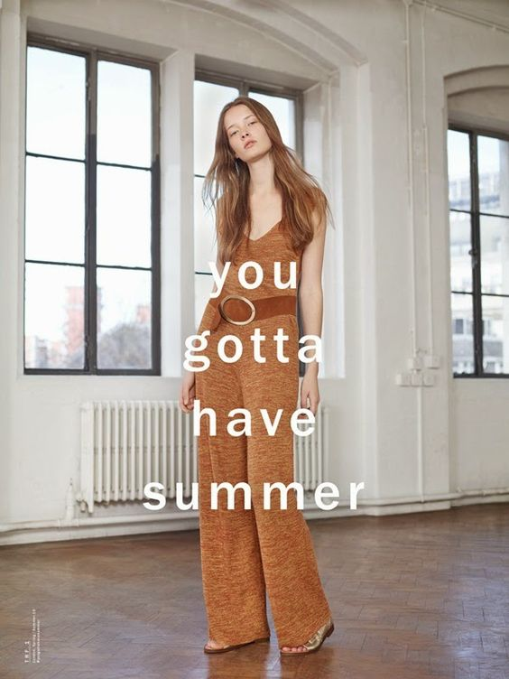 Catálogo Zara primavera-verano 2015: tu verano más hippie