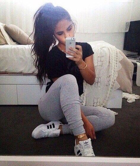 \u2022pinterest @gabikroeker , Adidas Outfits SwagAdida