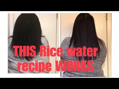 Xtreme Rice Water Results How I Grew My Hair In Two Weeks Youtube Growing Healthy Hair Hair Growth Grow Hair Overnight