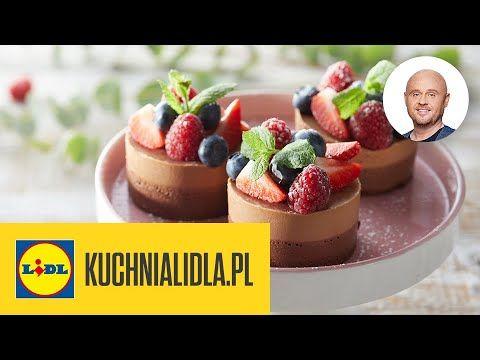 Minitorciki Czekoladowo Migdalowe Pawel Malecki Kuchnia Lidla Youtube In 2020
