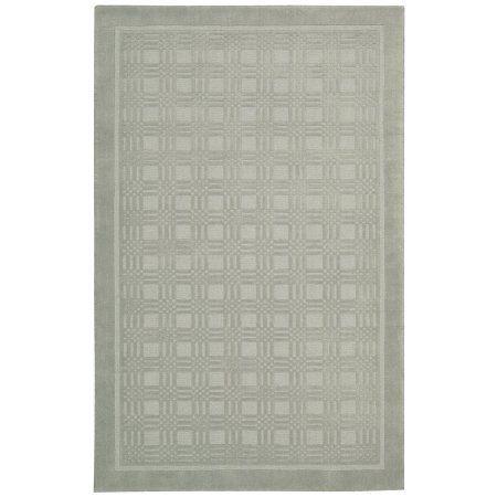 Nourison Westport Textured Runner Rug, 2'3 inch x 7'6 inch, Grey, Gray