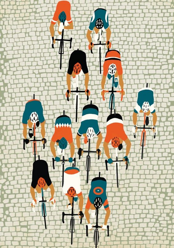 Rapha Spring Classics show, Manchester ‹ Eliza Southwood – Illustrator