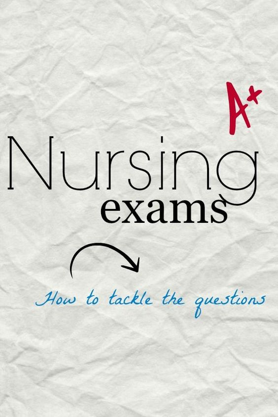 How to study for nursing tests