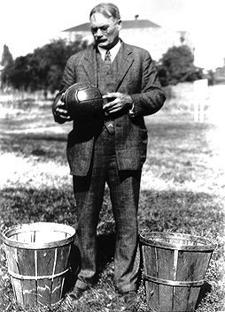 Dr. James Naismith a professor at Guelph University invented the game of basketball...