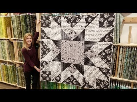 248 Big Star Urban Cottage Giveaway Youtube Big Block Quilts Quilting For Beginners Easy Quilts