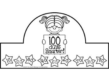 100th Day Of School Freebie 100 Day Of School Project 100th Day Of School Crafts 100 Days Of School
