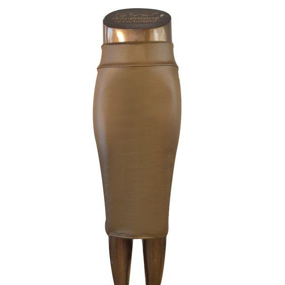 9 Colors High-Waist Faux Leather Pencil Skirt