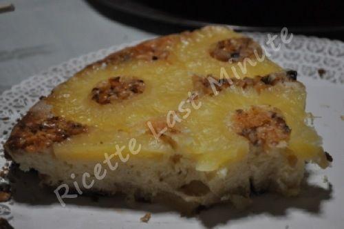Torta capovolta all'ananas