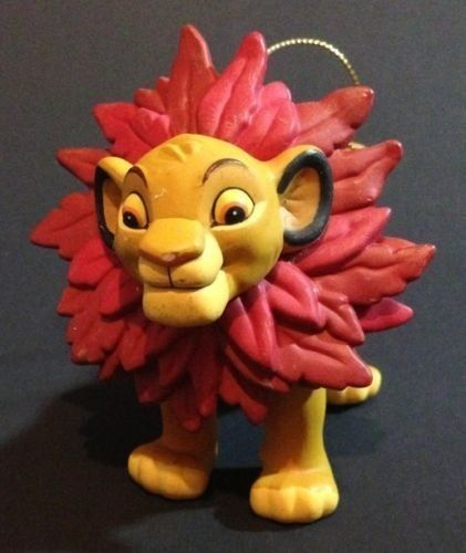 Disney Lion King Simba Christmas Ornament | eBay