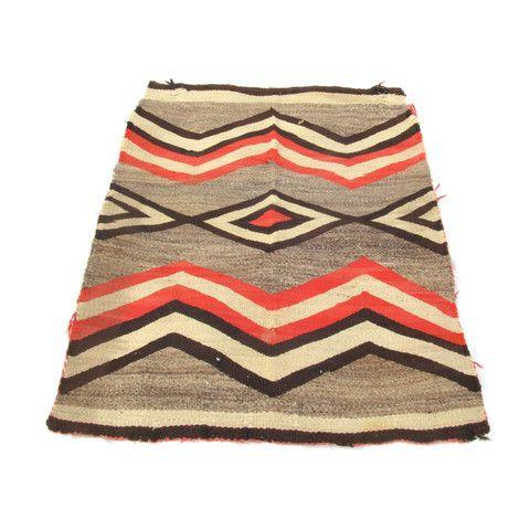 navajo saddle blanket/rug with pink