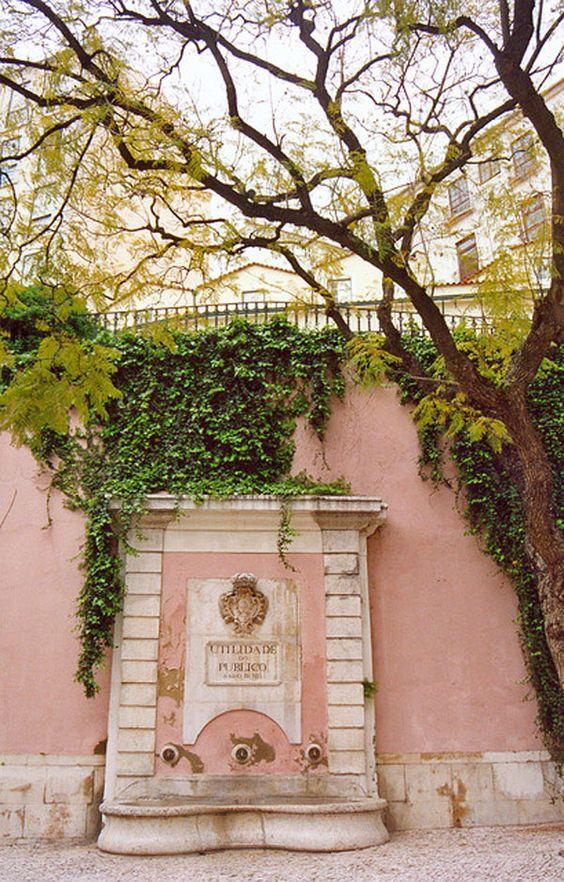 Lisboa cor-de-rosa