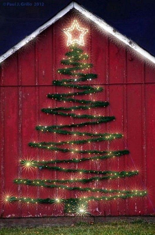 98 Magical Christmas Light Decoration
