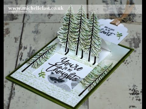 Pop Up Card made using Stampin Up Products Mad by Michelle Last UK's '#1 Demo…