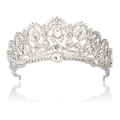 Crystal Rhinestone Queen Princess Crown Tiara Wedding Pageant Bridal Headband