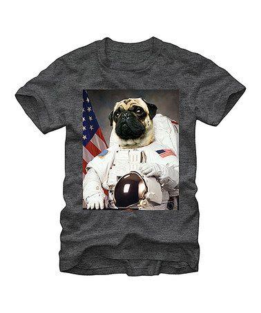 Look at this #zulilyfind! Space Pug Tee - Men's Regular #zulilyfinds