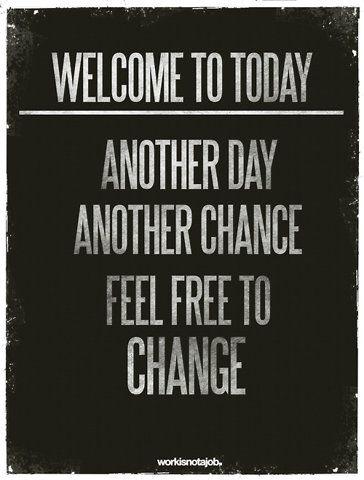 Feel Free to Change...