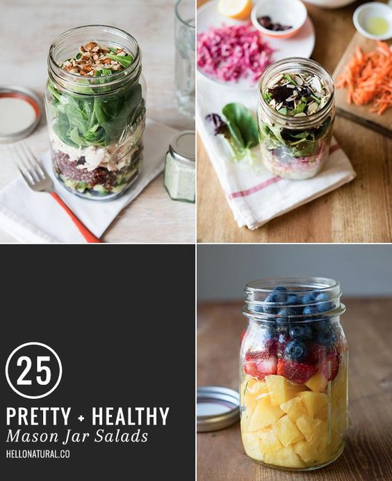 25 mason jar salads that are almost too pretty to eat - AOL.com