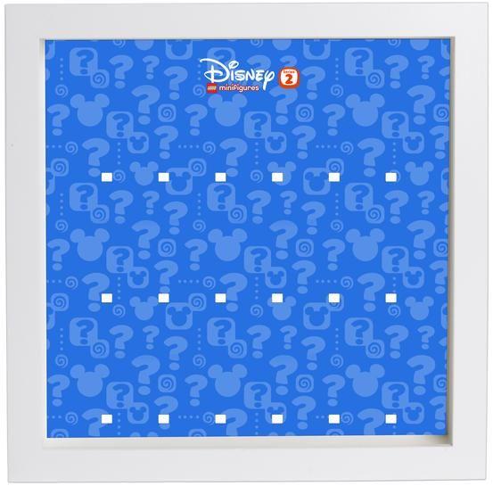 Display Case Frame for Lego Disney Series 1 /& 2 71024 Minifigures no figures