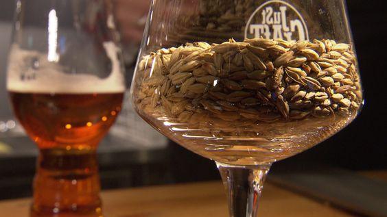 Fünf Braumeister haben aus fünf Sorten Malz ein Bier gemacht, das immerhin 7,7 Prozent Alkohol intus hat. Senatsbock heißt das Gebräu und hat beim Anstich die Gaumen erfreut.