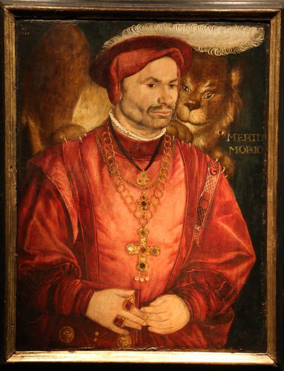 Portrait Der Hofnarr Mertl, 1545 Hans Mielich: