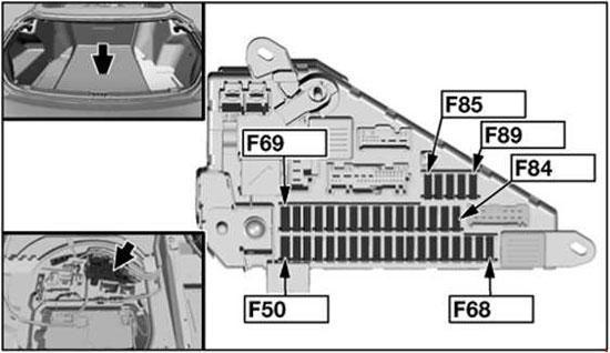 Bmw 6 Series E63 E64 2004 2010 Fuse Box Diagram Auto Genius Fuse Box Bmw 6 Series Bmw