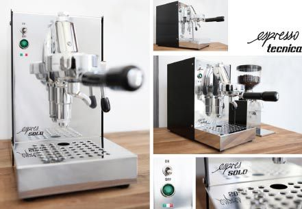 espres solo espresso siebtr ger maschine my wishlist pinterest espresso. Black Bedroom Furniture Sets. Home Design Ideas