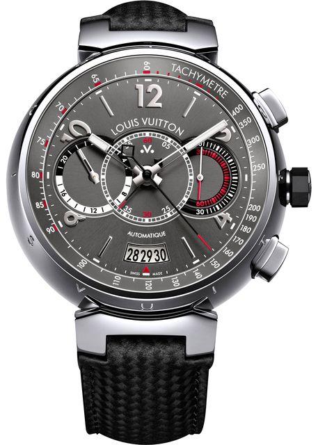 Louis Vuitton Tambour Voyagez Automatic Chronograph watch