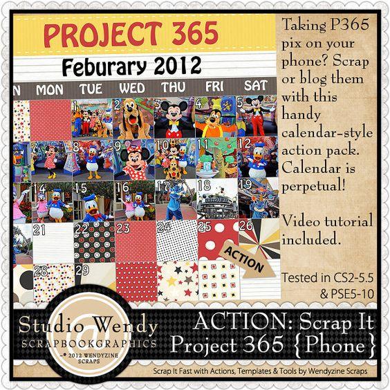 ACTION: Scrap It Project 365 {Phone}