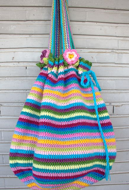 Crochet Bag And Pattern : Ravelry: Project Gallery for Crochet bag pattern by Lucy ...