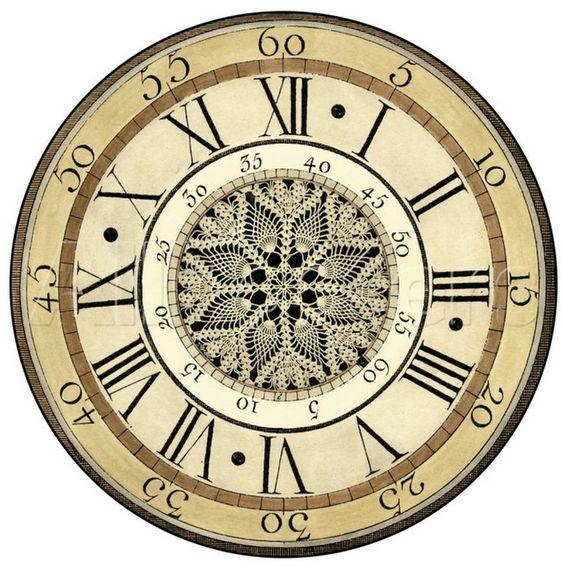 clock face: