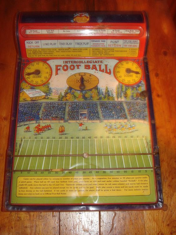 1930s toys and games