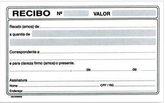 Modelo De Recibo De Compra E Venda 2018 Como Fazer Recibo De